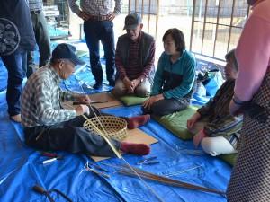 竹かご作り(加工)