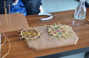 竹のコースター作り(加工)