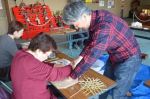 竹のコースター作り (2)(加工)